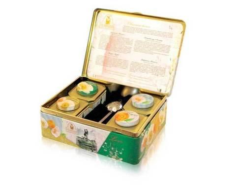 Чай Объятия весны Teabreeze в шкатулке
