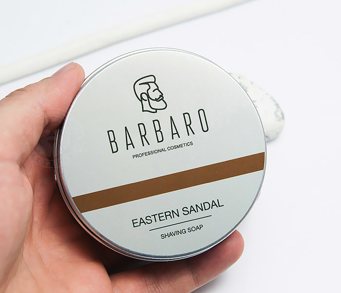 RAZ1014 Мыло для бритья Barbaro «Eastern sandal», 80 гр фото 04