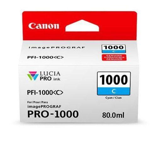 Картридж Canon PFI-1000 C голубой (0547C001)