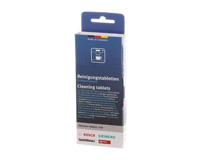 Таблетки для очистки кофемашин от эфирных масел Bosch/Siemens (10 шт.)