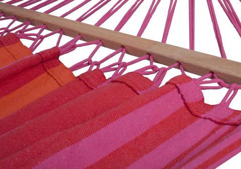 Гамак с планкой красно-розовый Milli BRD-01