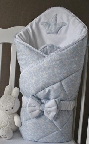 Зимнее одеяло - конверт на выписку Принц