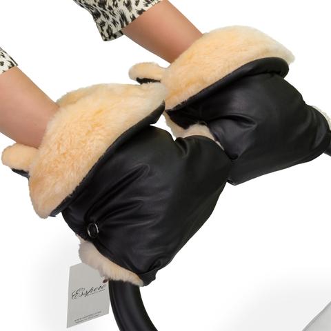 Муфта-рукавички для коляски Esspero Olsson (100% овечья шерсть)