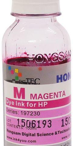 Чернила водные DCTec magenta 100 мл для плоттеров HP DJ 500/800/K550/K8400. Серия 197230
