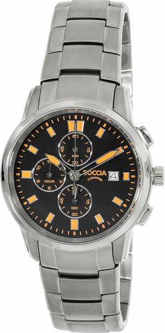Купить Мужские наручные часы Boccia Titanium 3763-03 по доступной цене