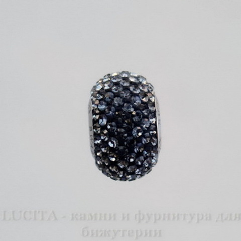 80101 Бусина Сваровски BeCharmed Pave Crystal Silver Night 14х9 мм (large_import_files_63_63deadb7d8b311e2a090001e676f3543_5286e2a5c5ff4d0fa35a469431161aab)
