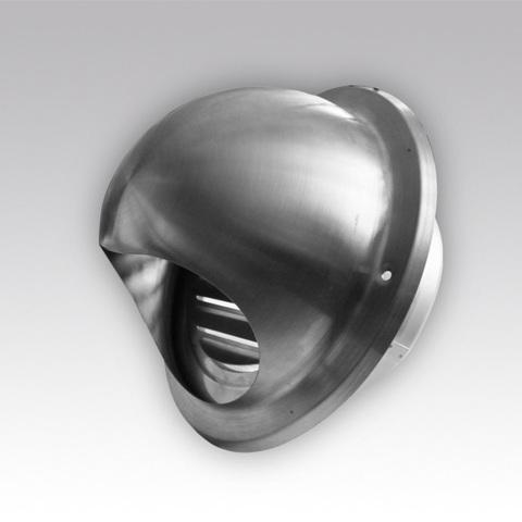 Выход стенной 12,5 ВМ нержавеющая сталь