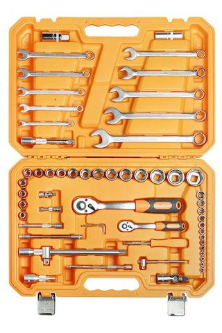 Набор инструментов универсальный 59 предметов, пласт.кейс