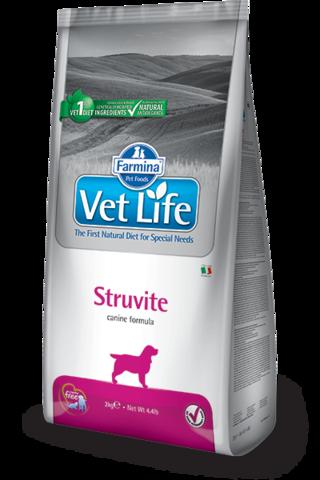Сухой ветеринарный корм Farmina Vet Life Dog Struvite