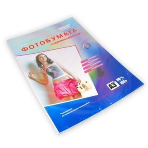 Cублимационная бумага IST формат А3, плотность 100гр/м, 100листов. (ITP-100HTPA3)