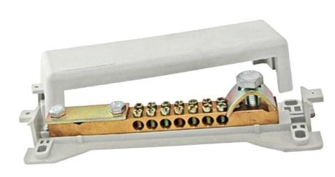 Шина универсальная распределительная ШнУР 1 в корпусе 2 ввода 7 групп 160 А TDM