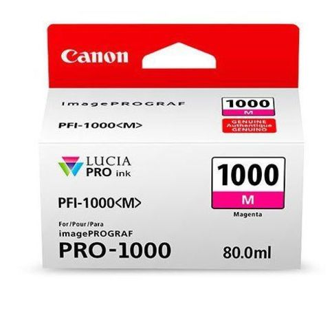 Картридж Canon PFI-1000 M пурпурный (0548C001)