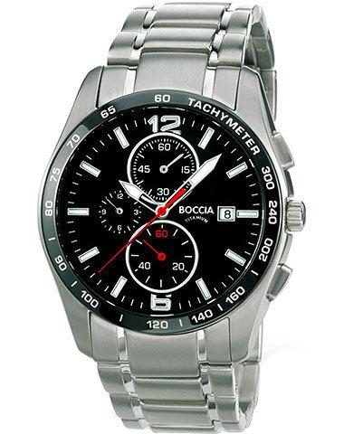 Купить Мужские наручные часы Boccia Titanium 3767-02 по доступной цене
