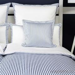 Постельное белье 1 спальное Elegante Hastings синее