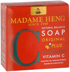 Madame Heng Мыло с Гранатом Мадам Хенг Natural Balance plus Pomegranate & Vitamin C, 150 г