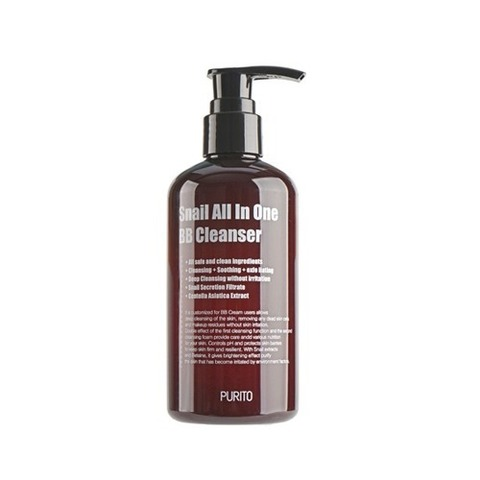 Очищающий гель PURITO Snail All In One BB Cleanser 250ml