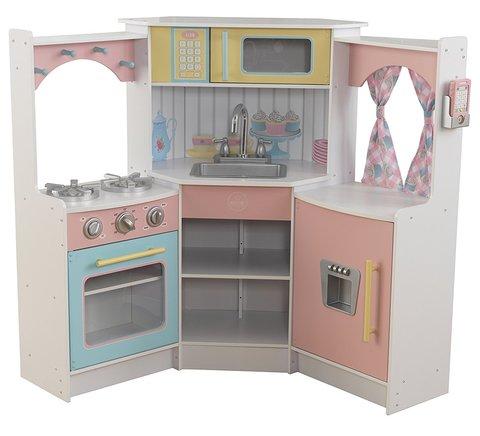 KidKraft Делюкс - угловая детская кухня 53368_KE