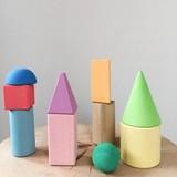 Геометрические фигуры цветные