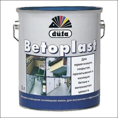Эмаль для бетонных оснований Dufa BETOPLAST (цвет резеды)