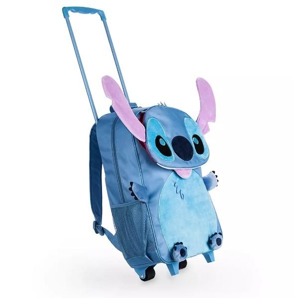 Детский Рюкзак Стич на колесиках Дисней 55 см