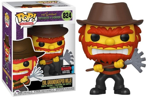 The Simpsons Treehouse of Horror Funko POP! Animation Evil Groundskeeper Willie (Exc) ||  Вилли Садовник