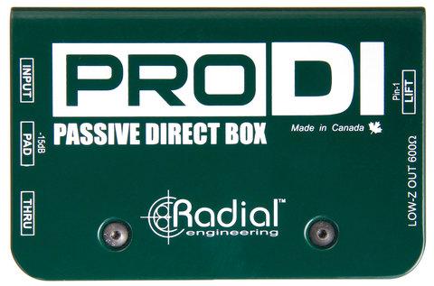 Radial ProDI пассивный директ-бокс