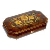 Шкатулка для ювелирных украшений музыкальная, арт. AW-02-051 от Artwood, Италия