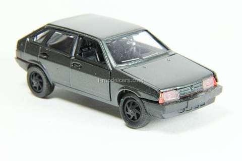 VAZ-2109 Lada Samara hatchback 5-doors (darkgrey) Agat Mossar Tantal 1:43