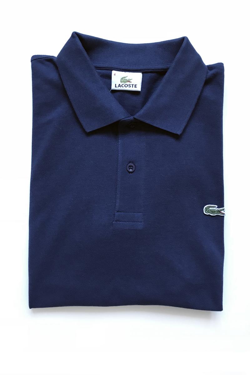 футболка поло мужская темно-синяя