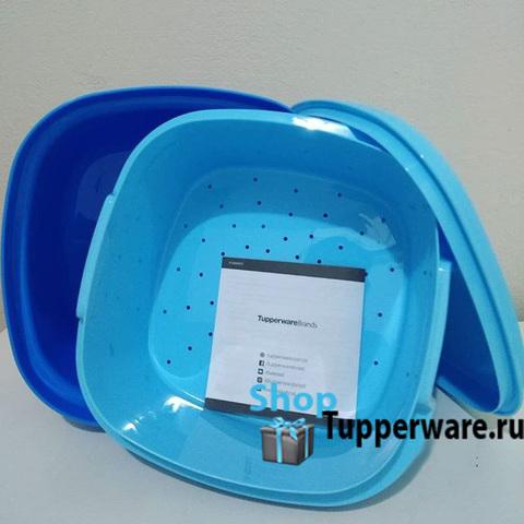 Термосервирователь в голубом цвете (2)