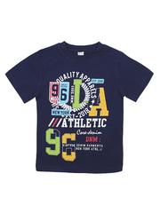 BK002F-64 футболка для мальчика, синяя