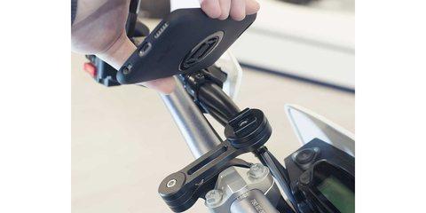 Набор универсальных креплений для смартфона на мотоцикл Spc Moto Bundle Universal момент соединения