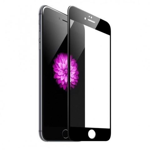 Защитное стекло для iPhone 7/8 полноэкранное 5D черное