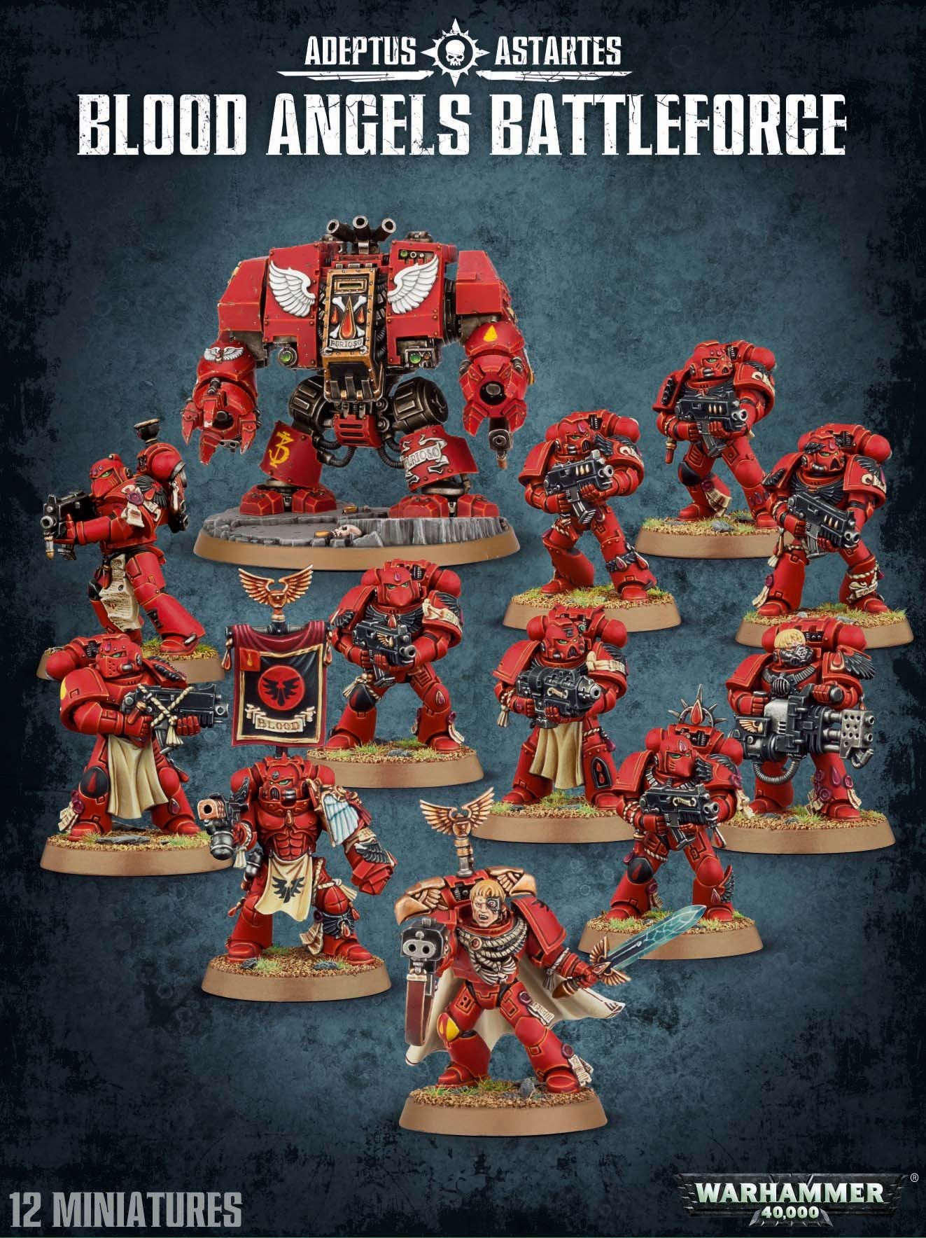 Blood Angels Battleforce. Коробка