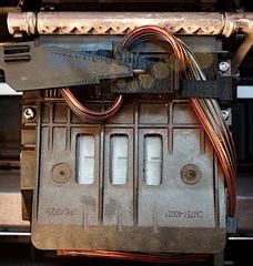 СНПЧ HP T520 (#711) для HP Designjet T120, T520. С чипами и демпферами. Усовершенствованное крепление.