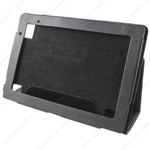 Чехол-книжка для Acer Iconia Tab A500 черный флотер книжка-подставка