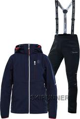 Детский утеплённый лыжный костюм 8848 Altitude Will Navy Nordski Premium 18