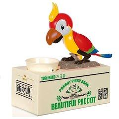 Голодный попугай копилка