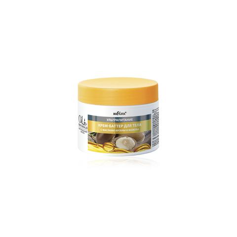 Белита Oil Naturals Крем-баттер для тела с маслами АРГАНЫ и ЖОЖОБА Ультрапитание 300мл
