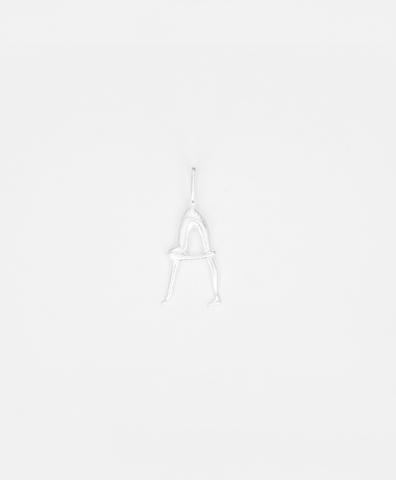 Подвески NUDE ALPHABET Tiny, silver