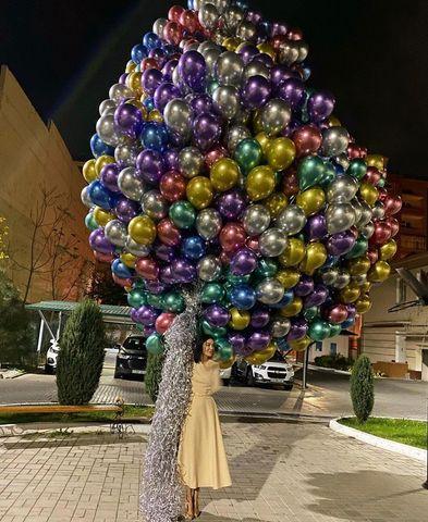 1000 хромированных шаров