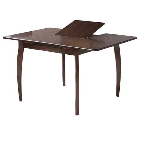 Стол обеденный SQ36 деревянный квадратный раскладной капучино