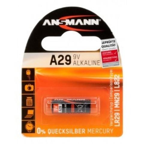 Батарейка А29 ANSMANN 9V