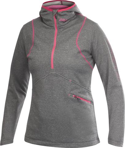 Толстовка женская Craft Active Logo Hood серая Распродажа