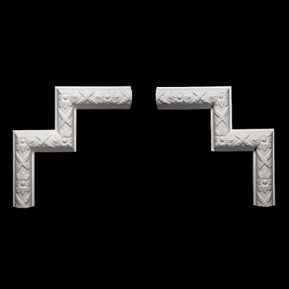Угловой элемент Европласт из полиуретана 1.52.328, интернет магазин Волео