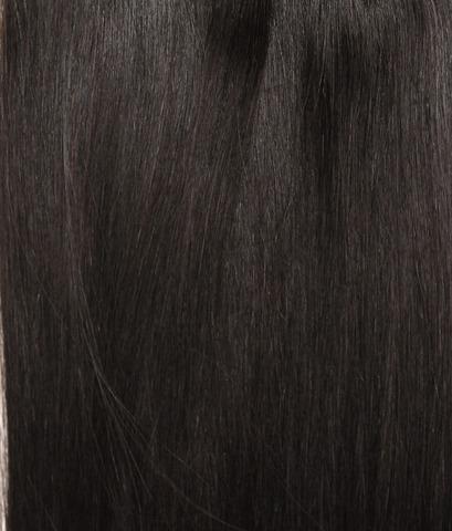 Длина 75 см -Оттенок 1B-Темно коричневый с черным отливом