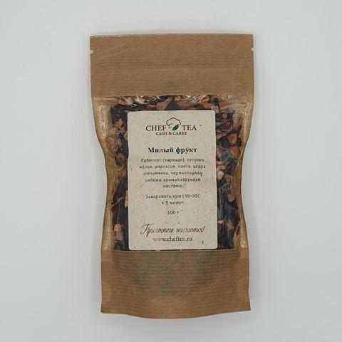 Фруктовый чай с гибискусом Милый Фрукт CHEF TEA, 100 гр