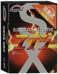 Презервативы SAGAMI Energy (количество штук на выбор)