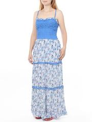 12081-1 сарафан женский, синий