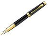 Купить Перьевая ручка Parker Premier Lacque F560, цвет: Black GT, S0887810 по доступной цене